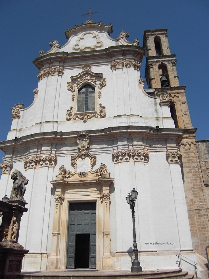 Chiesa Madre in Presicce, Puglia, Italy