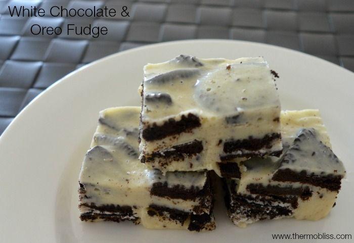 White Chocolate and Oreo Fudge - Thermobliss