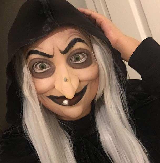 Scary Disney Villain Halloween Makeup