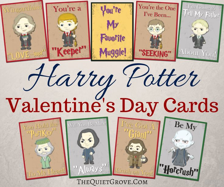 The 25 best Harry potter valentines cards ideas on Pinterest