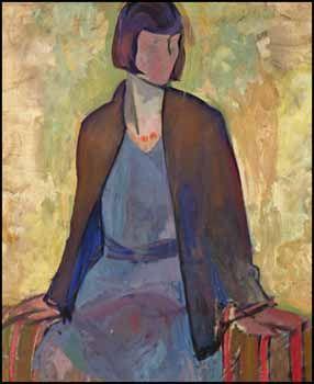 Frederick Horsman Varley - Portrait of Norma