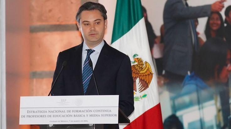 El secretario de Educación Pública, Aurelio Nuño Mayer,dijo que el idioma inglés será obligatorio.