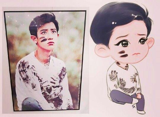 Chanyeol | Photobook Dear Happiness| Exo| Fan Art