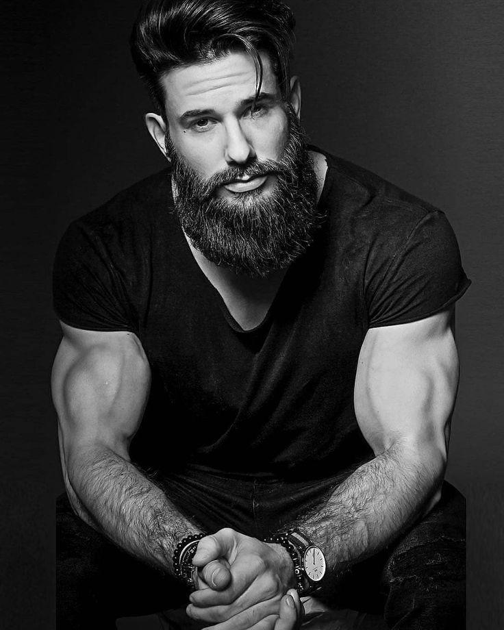 Для фотосъемки нужен мужчина с бородой
