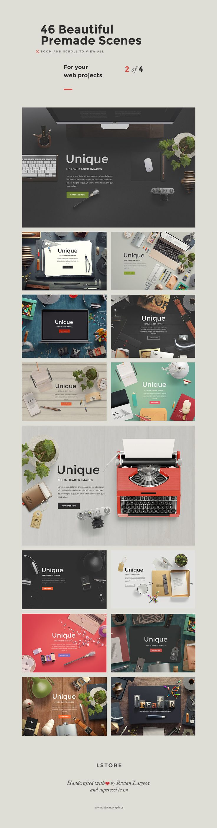 Poster design generator - I Am Creator Topview