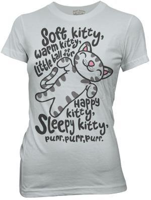 Big Bang Theory :-): Soft Putty, Soft Kitty, Bigbangtheori,  T-Shirt, Big Bang Theory,  Tees Shirts, Songs, Big Bangs Theory, T Shirts
