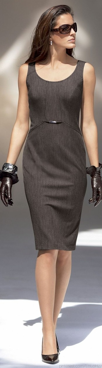 I love the concept of gloves all year round! An elegant and unexpected accessory beyond cold weather. ; ) -Krista