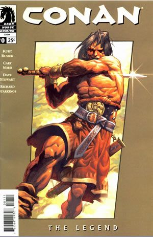 First of all, a big thank you to Dark Horse for bringing back Conan to comics.