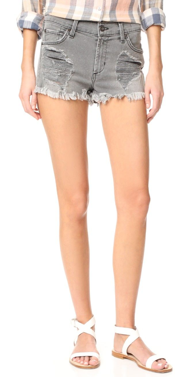 James Jeans Relaxed Fit Cut-Off Shorts | SHOPBOP