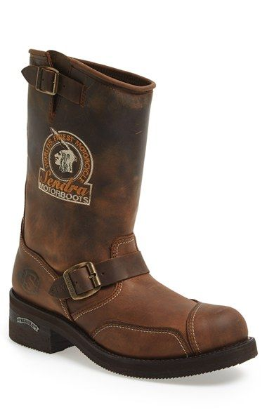 Sendra 'Rider' Motorcycle Boot (Men) available at #Nordstrom