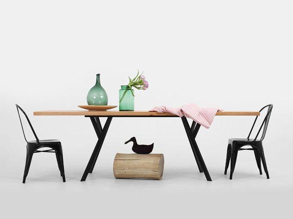 Stół dębowy ZX / modern wooden table