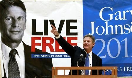 #LiveFree Vote for Gary Johnson for President    #Governor #Gary #Johnson, will fight to restore personal freedoms in the United States. His platform is impressive!! Never have I been so aligned w/ the platform of a presidential candidate that I am with him... #Smart #Politics via Flickr