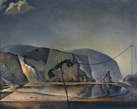 Salvador Dalí, Mountain Lake 1938 on ArtStack #salvador-dali-1 #art
