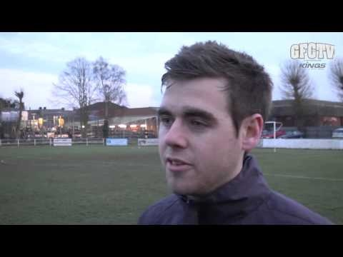 Spalding United 1, Guernsey FC 3 (plus exclusive interview) - 10th February 2013