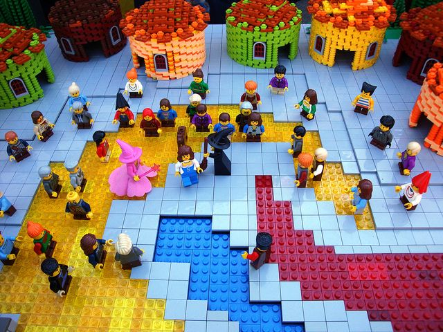 LEGO wizard of oz