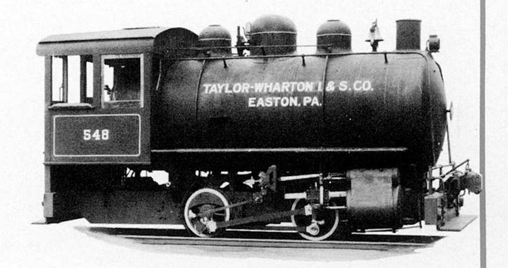 Porter 30-ton Fireless Steam Locomotive with 18.5in x 16in cylinders