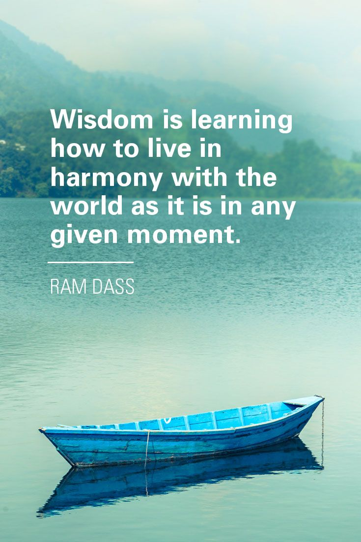 Beauty and serenity in words. Ram Dass. #meditation #ramdass #inspiration  #wisdom | Ram dass, Ram dass quotes, Inspirational phrases