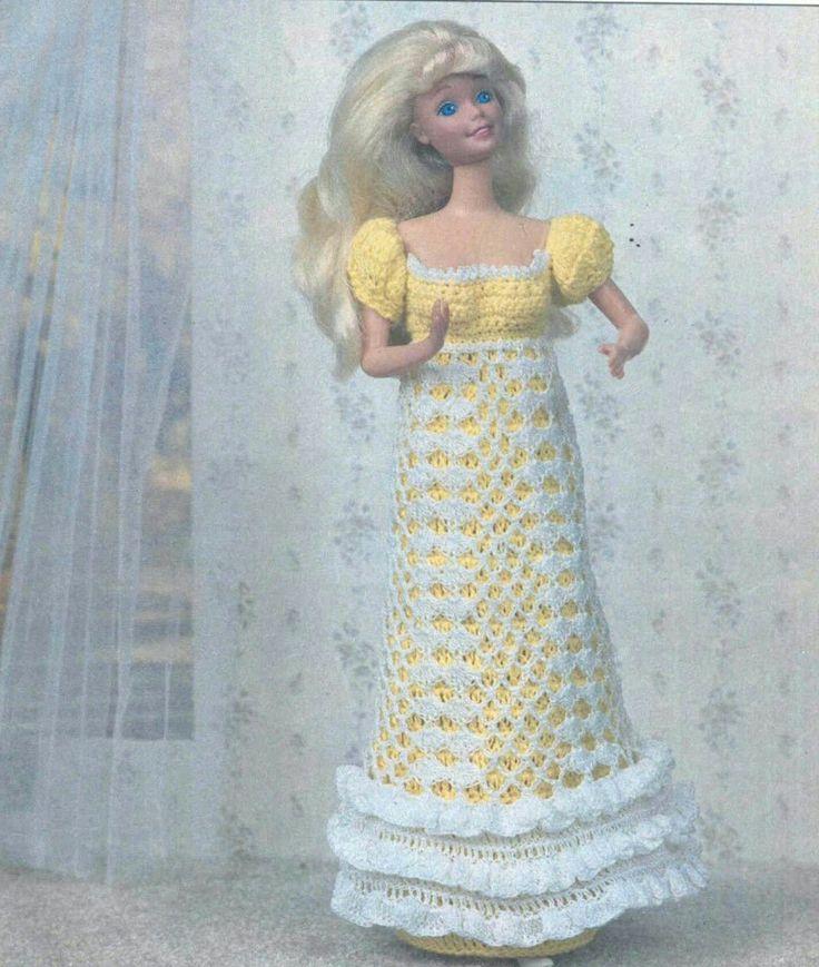 170 besten Barbie Vintage Crocheted Bilder auf Pinterest ...