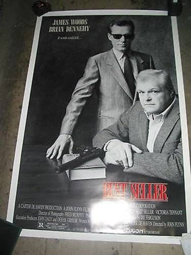 awesome BEST SELLER / ORIG. U.S. ONE-SHEET MOVIE POSTER (JAMES WOODS & BRIAN DENNEHY)