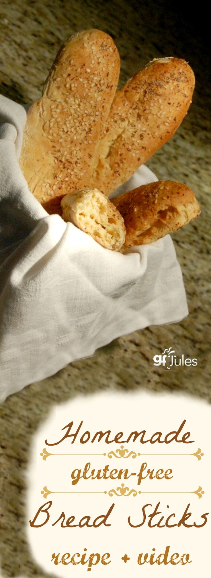 80 best gluten free thanksgiving recipes images on pinterest soft and yummy homemade gluten free breadsticks with recipe and easy how to video forumfinder Image collections