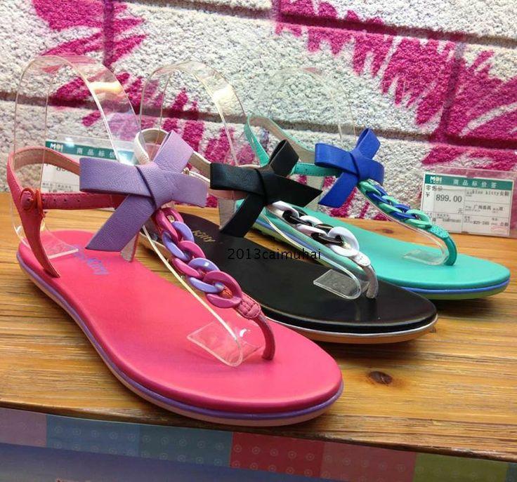 kisskitty подлинной 2014 лета новый металлическая цепь стринги сандалии лук S44318-04LD-Taobao