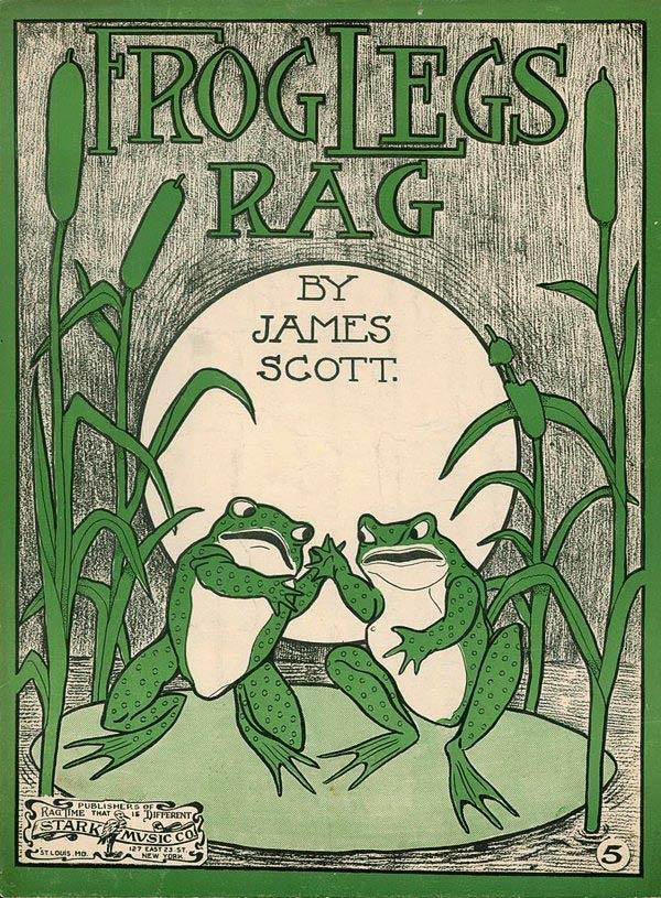 Frog Legs Rag. James Scott.