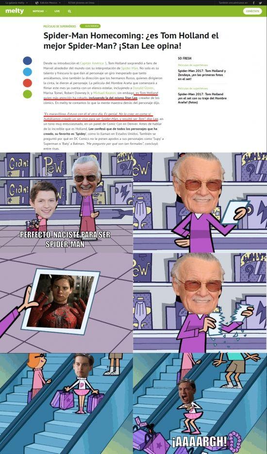 ★★★★★ Memes muy graciosos: El nuevo favorito de Stan Lee I➨ http://www.diverint.com/memes-graciosos-nuevo-favorito-stan-lee/ → #imágenesdememesderisa #internetmemesenespañolchistosos #memeschistososenespañol #memesenlavidarealespañollatino #memesgraciosasparawhatsapp