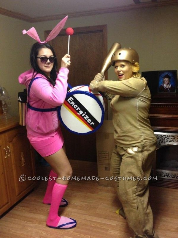 Awesome and Easy Homemade Energizer Bunny Costume for a Woman ... This website is the Pinterest of costumes
