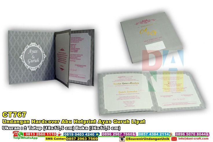 Undangan Hardcover Abu Hotprint Ayas Guruh Lipat HUB: 0852-2855-8701 (WA/Telp) #UndanganHardcover #DistributorHardcover #desainundanganPernikahan #souvenirMurah