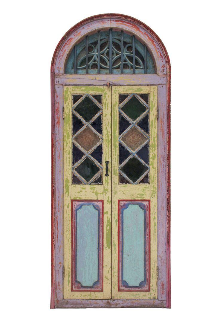 puerta antigua boho chic