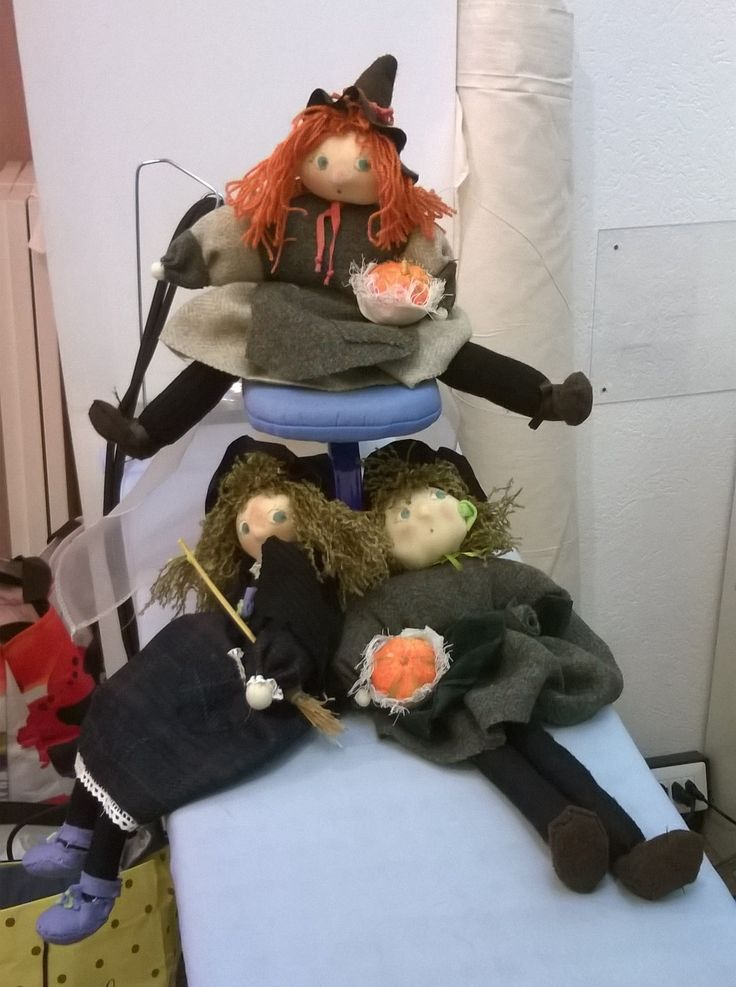 Bambole con riciclo :)