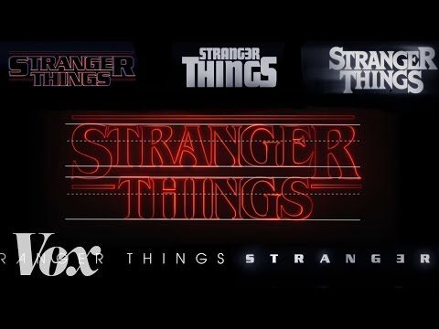 "The interview in the video on the page covers how the title sequence for this show was created, where they got the 1980s era font from, etc.  ""How the Wonderful Retro Opening Sequence for Stranger Things Was Created"" #Typography #GraphicDesign #Font http://laughingsquid.com/how-the-wonderful-retro-opening-sequence-for-stranger-things-was-created/"