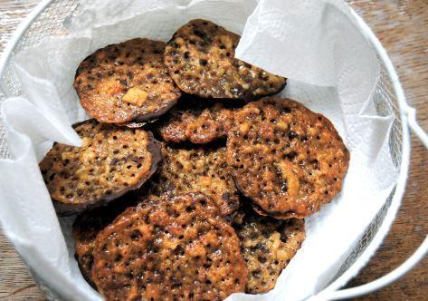 Biscuits glacés au chocolat