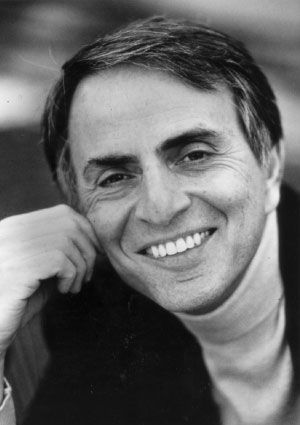 """We are the product of 4.5 billion years of fortuitous, slow biological evolution. There is no reason to think that the evolutionary process has stopped. Man is a transitional animal. He is not the climax of creation.""  Dr. Carl Sagan"