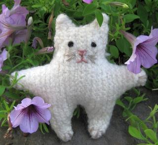 Easy Felted Cat amigurumi