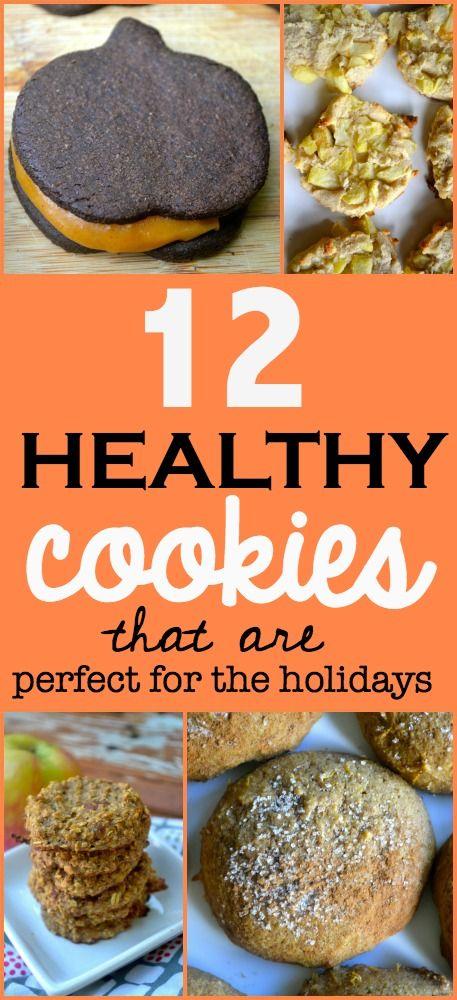 12 Healthy Fall Cookies