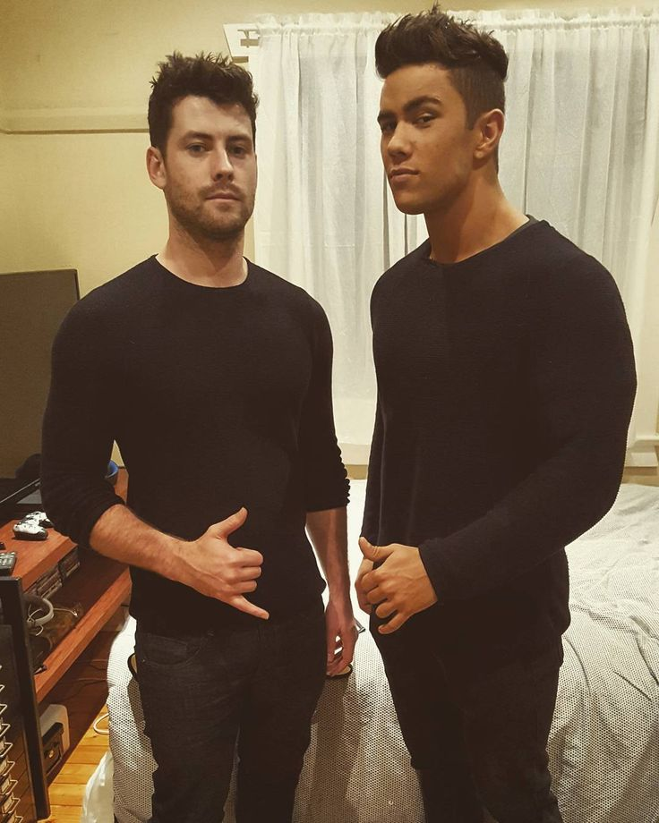 Jackson aka Brody and Orpheus aka Mason