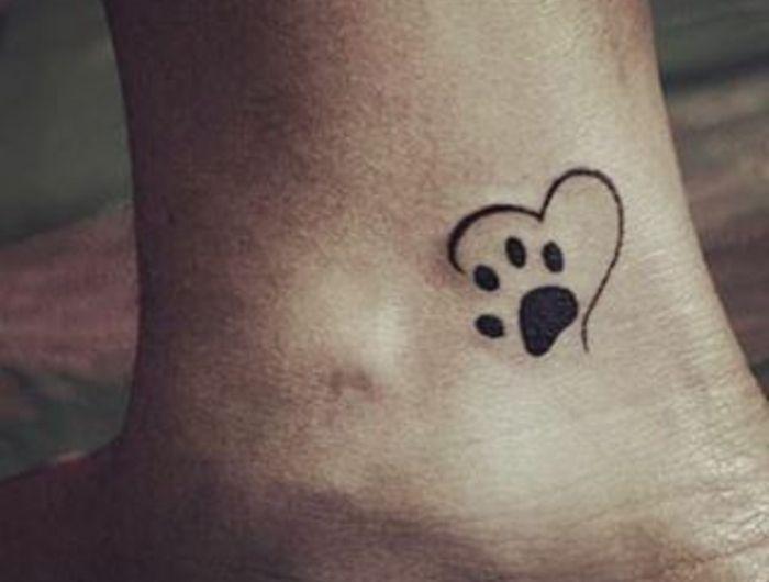 1001 Originalvarianten Des Katzenpfoten Tattoos En 2020 Tatuajes
