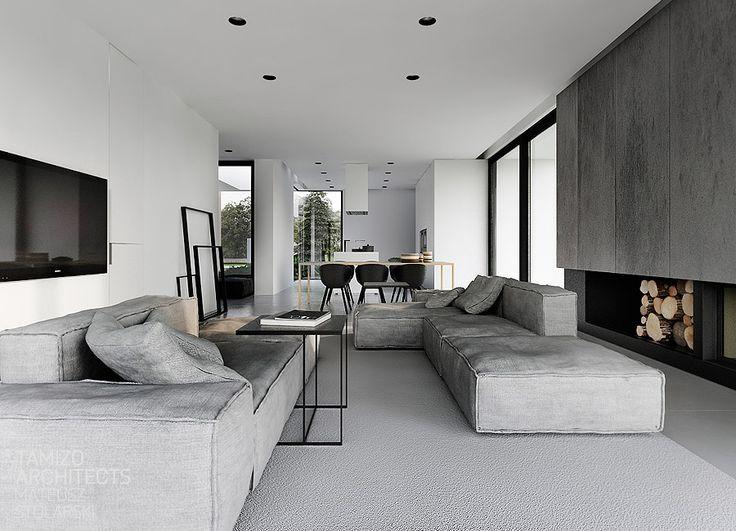 R-house interior design , pabianice   TAMIZO ARCHITECTS