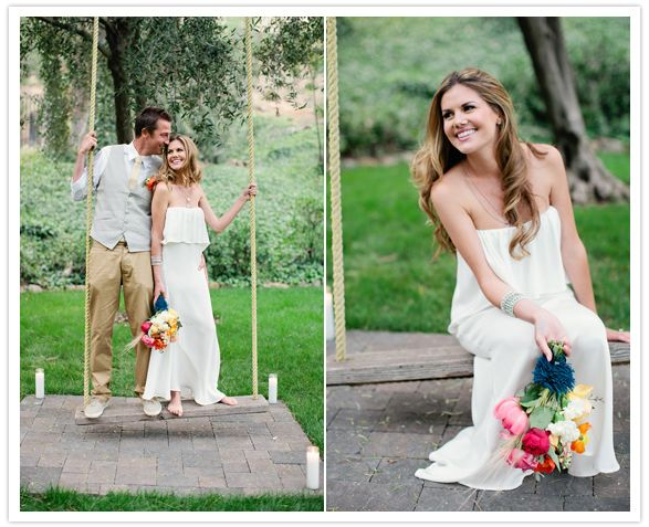 bouquet is awesome ::: stone cold fox wedding dress | green ...