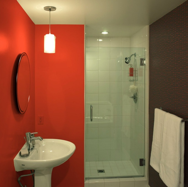 20 Ideas For Bathroom Wall Color: Side Door, Drywall And Colors
