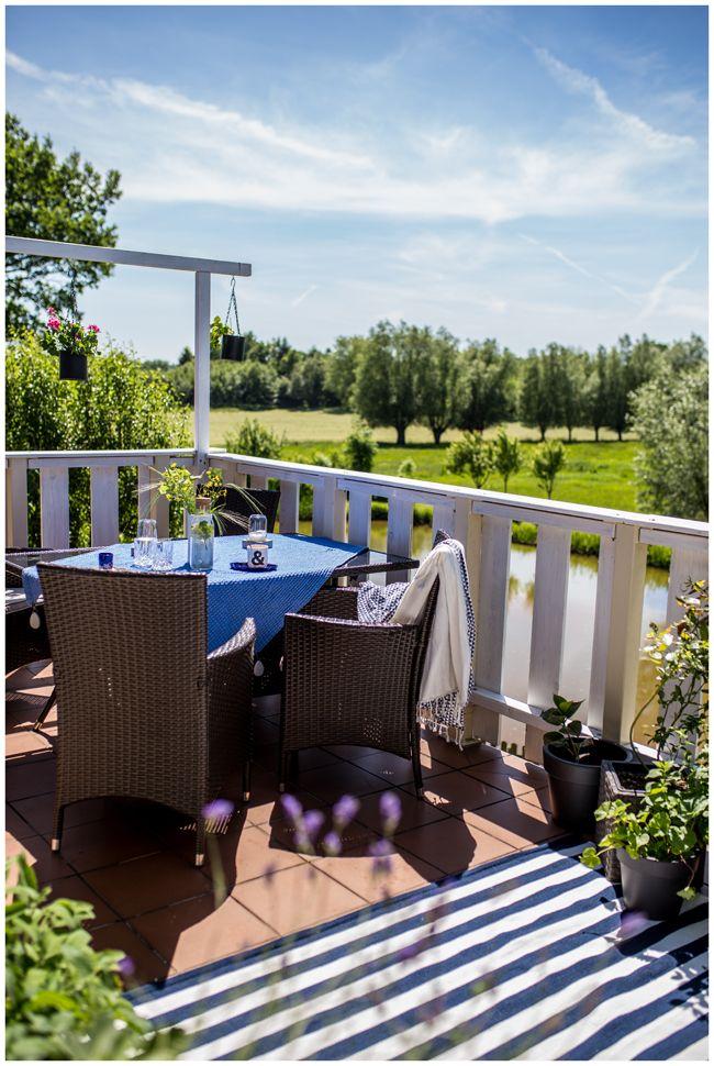 Ein Outdoorteppich für mehr Gemütlichkeit auf dem Balkon