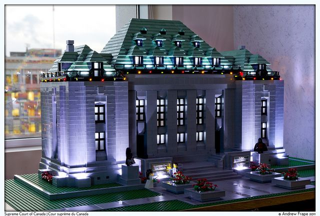 Supreme Court of Canada by -greenglo-, via Flickr