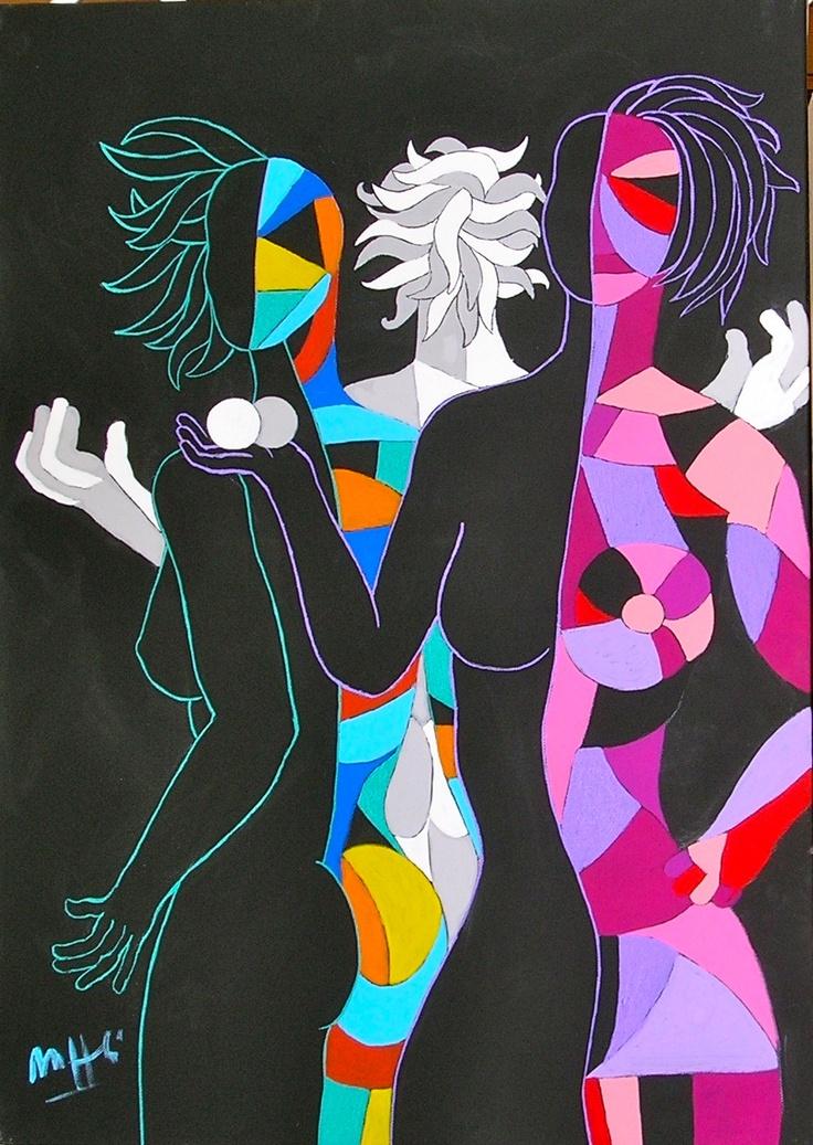 """ArtWorksRoma: """"L'ascesa femminile"""" by Massimo Maffei"""
