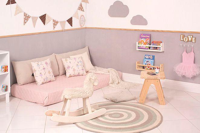 Aprenda a montar e organizar um quarto montessoriano para sua filha!