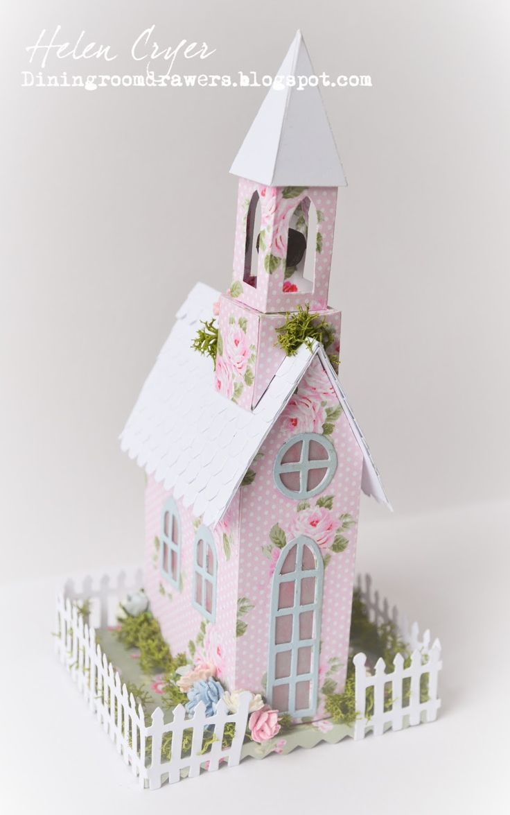 32 best sizzix images on pinterest paper houses putz houses and the dining room drawers tim holtzs sizzix village cottage dwellingbrownstone houses with craft consortium tanya whelan wild rose papers jeuxipadfo Image collections