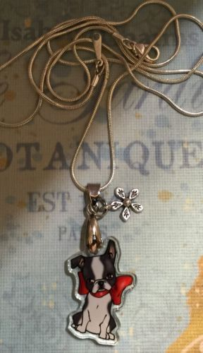 BOSTON-TERRIER-DOG-NECKLACE-NEW-DESIGN-BTSN  awesome veterinarian gift :)