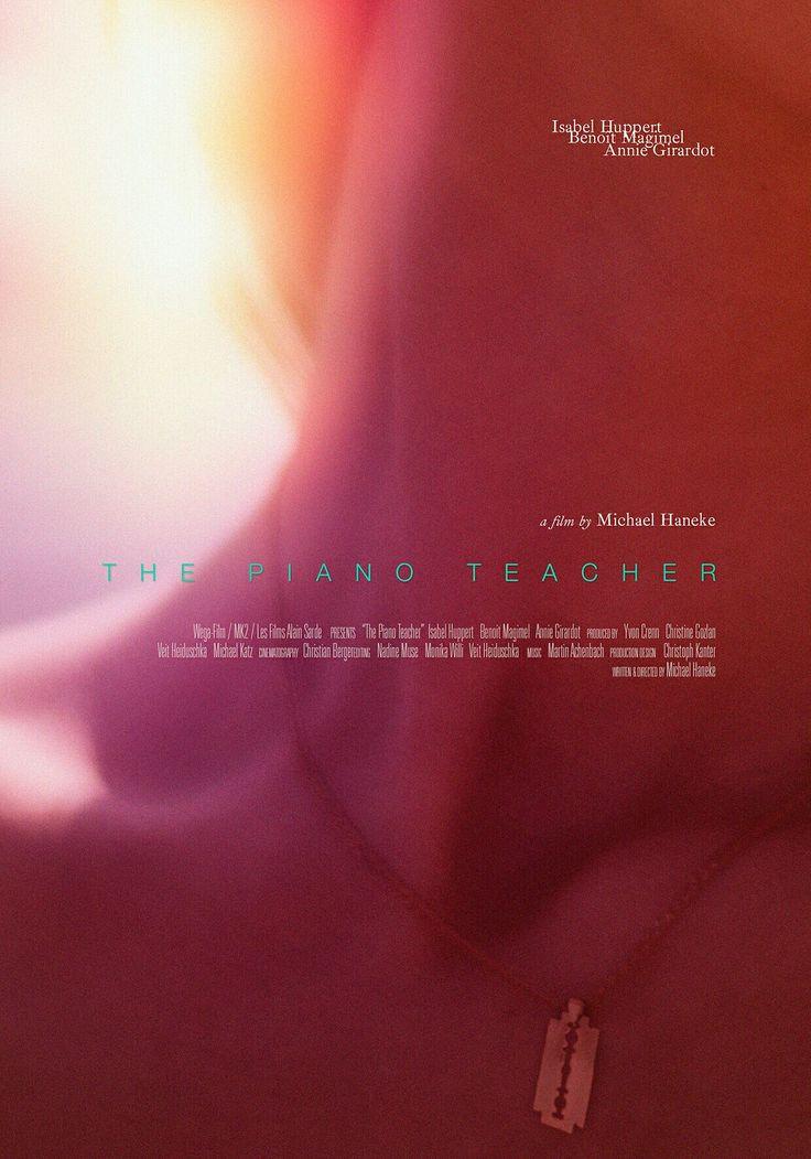 Alternative Film Poster:  Michael Haneke's The Piano Teacher