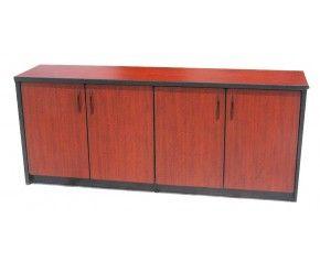 Credenza medida de cuenta con 4 puertas - Muebles de oficina en vigo ...