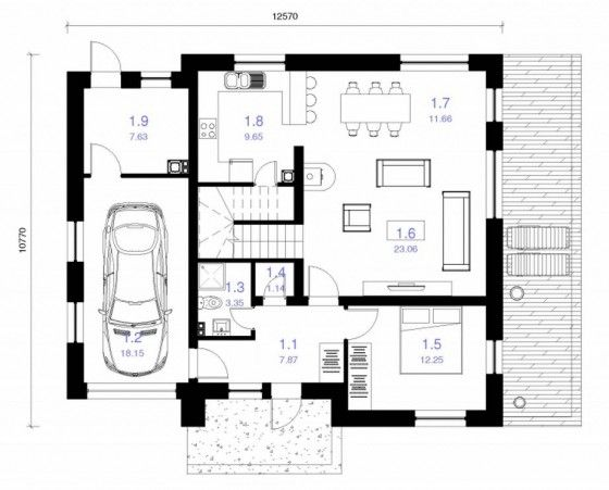 25 best planos de casas peque as images on pinterest for App para hacer planos